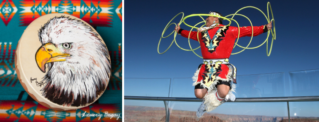 Lowery Begay - Hoop Dancer - Drum Maker