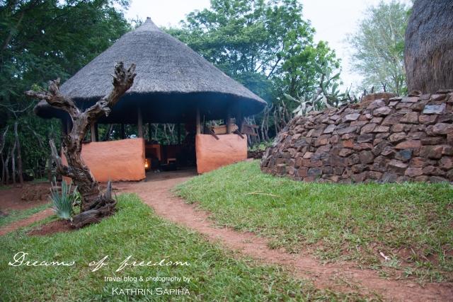 Kitchen building - Ecabazini Zulu Village - South Africa