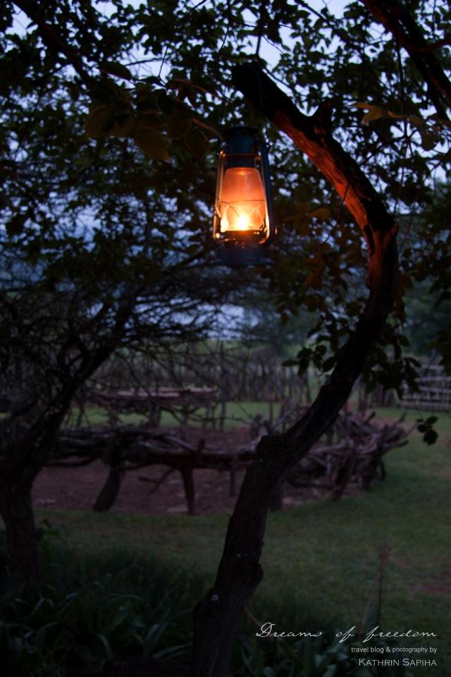Night light - Ecabazini Zulu Village - South Africa