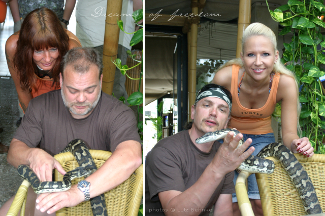 Turtlepatrol Team - Taina, Ralf, Lutz and Kathrin