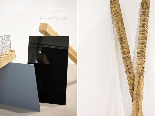 "La Friche la Belle de Mai - Art piece ""Money rules the world"" in morse code - Marseille, France"