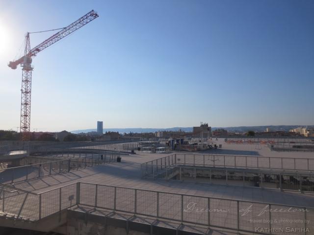 La Friche la Belle de Mai - View from the rooftop - Marseille, France