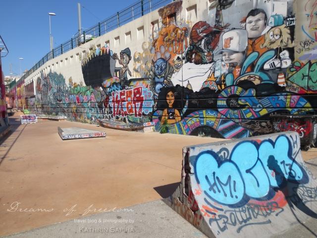 La Friche la Belle de Mai - Skate park - Marseille, France