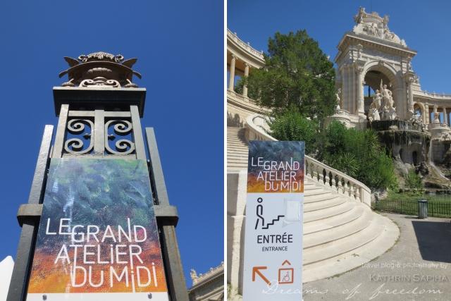 Marseille, France - Palais Longchamp - Fine Arts Museum - Le Grand Atelier du Midi