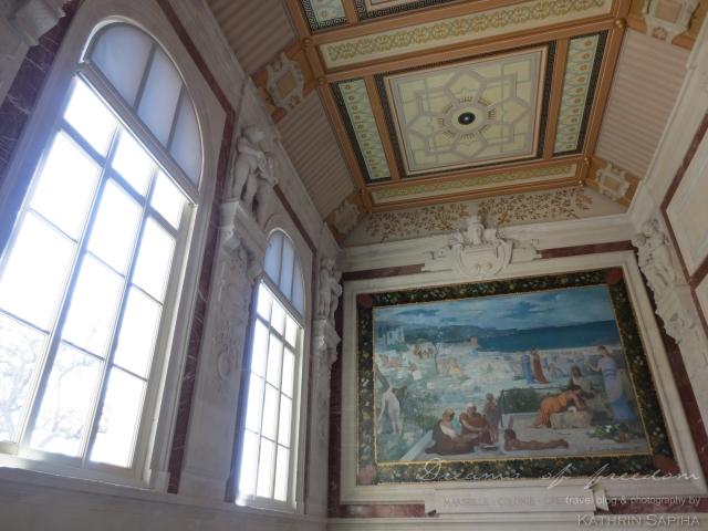 Marseille, France - Palais Longchamp - Fine Arts Museum
