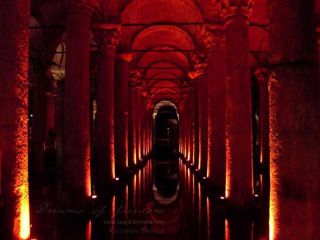 Basilica Cistern - Istanbul - Turkey