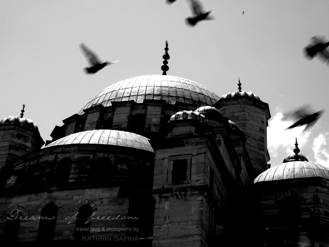 "Istanbul, Turkey - Mosque - Photography ""Freedom"""