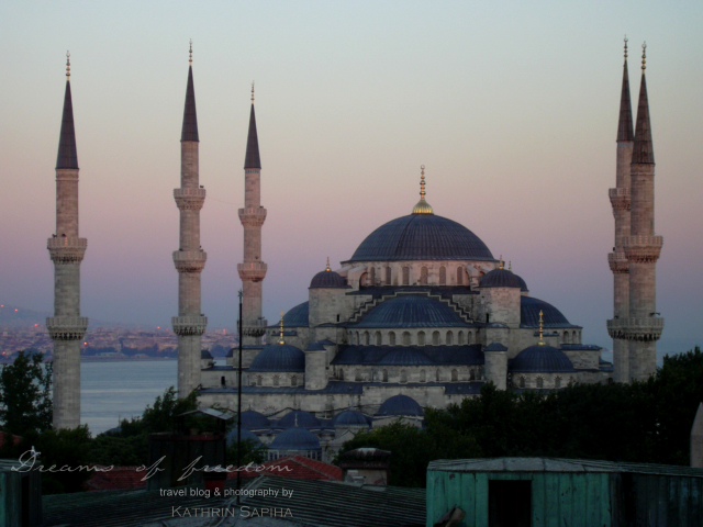 "Sultan Ahmed Mosque - ""Blue Mosque"" - Istanbul - Turkey"