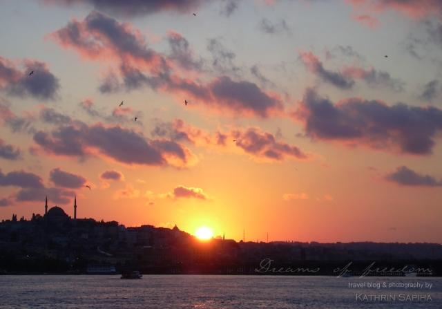 Sunset - Istanbul - Turkey