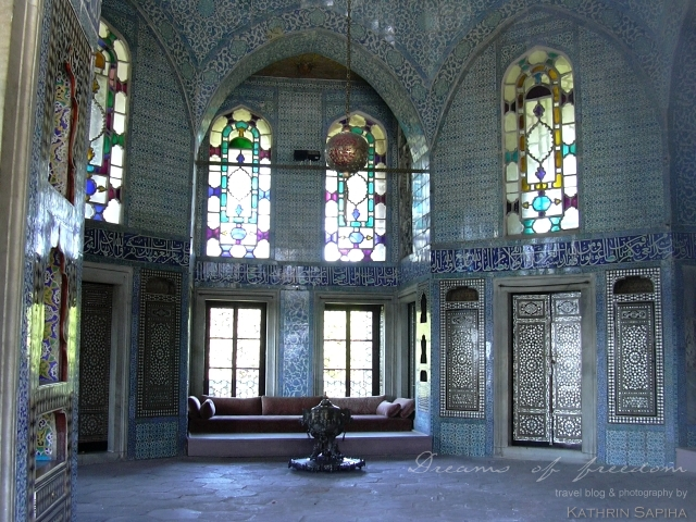 Room inside the Topcapi Palace - Istanbul - Turkey