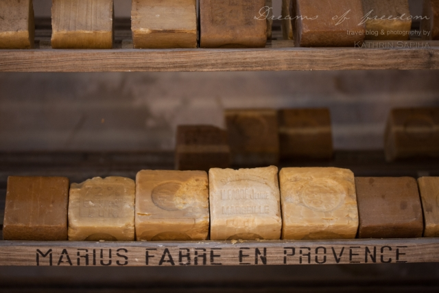Marius Fabre soap factory - Real Marseille Soap bars in the Museum
