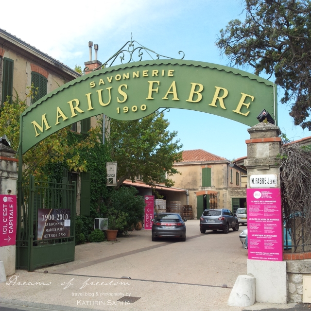 Marius Fabre soap factory for the original Marseille soap