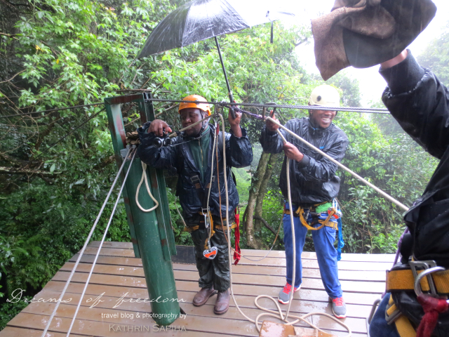 The Karkloof Canopy Tour Zip Lining Team - South Africa