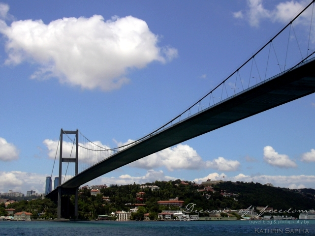 Suspension Bridge - Bosporus - Istanbul - Turkey